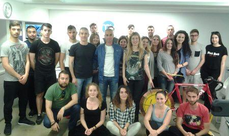 """Επίσκεψη των σπουδαστών 4ΦΥΣΠΟ στο εργομετρικό κέντρο """"My Athlete"""""""