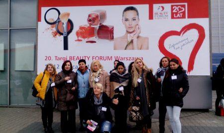 """Ο τομέας αισθητικής της ΣΒΙΕ στην έκθεση κοσμητολογίας και αισθητικής """"Τargi Beauty Forum"""", στη Βαρσοβία, 9-13 Μαρτίου 2017!"""