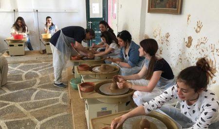 Εκπαιδευτική επίσκεψη του τομέα εργοθεραπείας στην Πανελλήνια Ένωση Κεραστιστών & Αγγειολαστών