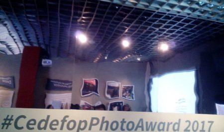"""Οι σπουδάστριες του ΙΕΚ ΣΒΙΕ  ταξίδεψαν στη Θεσσαλονική για τη διάκριση τους στον ευρωπαϊκό διαγωνισμό """"Cedefophoto Award 2017""""!"""