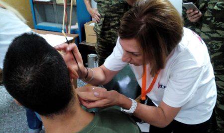 Ο τομέας Αισθητικής σε συνεργασία με το Γενικό Επιτελείο Στρατού